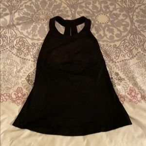 Lululemon High Neck Tank Top with Built-in Bra